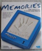 Memories Time Capsule and Plaster Hand Print Kit