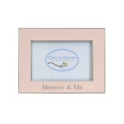 Child to Cherish Mommy & Me Enamelled Frame, Pink