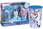 Disney Frozen Olaf Inspired 4pc Winter Berry Bath Gift Set! Plus Bonus Bath Time Rinse Cup!
