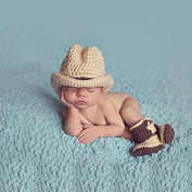 Musuntas Baby Prop Photography, Baby costume, fashion Unisex Newborn Boys Girls Baby Outfits Photography Props Cute Cowboy Boots Baby Photography Props