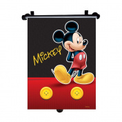 Mickey Mouse - Genuine Disney Marvel Sanrio Car Sun Shades Rollers Window Blinds for Kids Children Baby