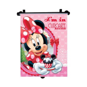 Minnie Mouse - Genuine Disney Marvel Sanrio Car Sun Shades Rollers Window Blinds for Kids Children Baby