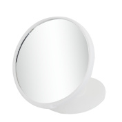 White Plastic Car Auto Safety Side View Blind Spot Rear View Mirror