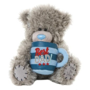 18cm Me to You Bear With Best Dad Plush Mug