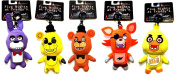 FNAF Officially Licenced Five Nights At Freddy's 13cm Plush Toy Clip Complete Set of 5 by Five Nights at Freddy's