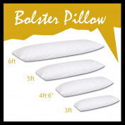 Textile Online Non-Allergenic Bolster Pillow Long Body Support Orthopaedic Pregnancy