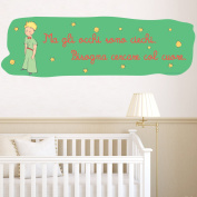 STIKID-but the eyes are ciechi... The Little Prince Official Wall Stickers - 40 x 31 cm