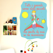 The Little Prince (all Grandi...) - 50 x 64 cm-Wall Stickers Room Wall Stickers for Decoration with style