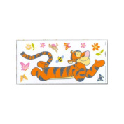 Decofun Deco Figures Stickers-Small-DE 43021 Pooh Fun Nature Trail