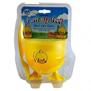 SPLASH THE DUCK FANTASY FEET BOWL WITH SPOON