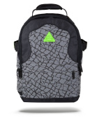 Sprayground Reflective Neon Flux Rython Backpack - Silver