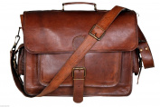 Krish Vintage Leather Laptop Bag Messenger Handmade Briefcase Crossbody Shoulder Bag