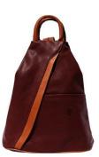 Handbag Bliss Super Soft Italian Leather Rucksack & Shoulder Bag