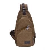 ENKNIGHT Sports Unbalance Backpack Sling Bag for Men Canvas Chest Pack/Hiking Bag