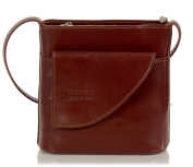 Leather Shoulder Bag - small evening bag made in Italy