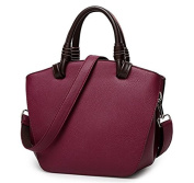LMJ Cow Leather Handbags Daily Leisure Top-handle Shoulder Crossbody Bag for Women and Girls