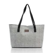Ouneed Women Shoulder Bags Tote Purse Fashion Canvas Handbag Shoulder Bags Shopping Linen Casual TotesCanvas Bag Cute Cat Bag Office Lunch Bag