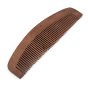 5.1cm Width Coffee Colour Hair Care Tool Natural Wooden Comb for Lady