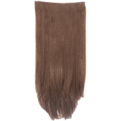 New Collection Women's Hair Wig Attachment 3 Piece Straight Hair Extension Envy-8