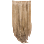 New Collection Women's Hair Wig Attachment 3 Piece Straight Hair Extension Envy-27/613