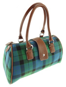 Ladies Tartan Bowling Bag Available In 4 Tartan TB7004
