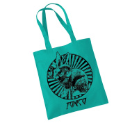 Toxico Clothing - Green Jackalope Bag