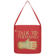 Twisted Envy Talk To The Hand Tote Bag