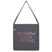Twisted Envy Jon Snow Knew Nothing Tote Bag