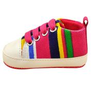 BOBORA Infants Baby Boy Girl Soft Sole Casual Lace Prewalkers Sneaker 0-18M