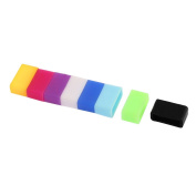 8pcs Silicone Watch Band Buckle Ring Loop for 13mm Width Strap