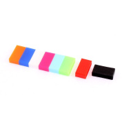 8pcs Antislip Silicone Band Watch Buckle Ring Loop for 20mm Wide Strap