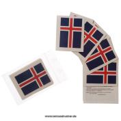 5 x Iceland Fan Tattoo flags - Euro 2016 Fan - Iceland Tattoos - Íslands fánans