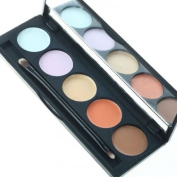 KINGMAS® 5 Nude Colour Concealer Makeup Palette with brush
