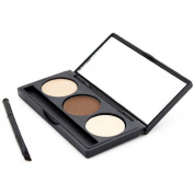 Eye Shadow and Eye Brow Palette with Brush/Mirror
