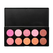 Crown Brushes Blusher Palette 10 Colours