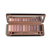 Crown Brushes Over Exposed Nude Eyeshadow Palette 12 Colours