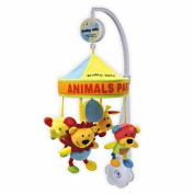 New Baby Musical Cot Mobile Toys with Soothing Soft Animals - Party