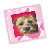 FunToSee Camo Pink Stick-a-Frames, Pack of 12 Wall Sticker Frames