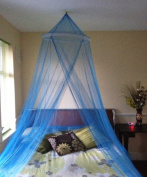 Single Entry Mosquito Net Romantic Bed Canopy Fly Midges Insect Protection