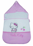 Hello Kitty 040821 Swaddling Blanket Coccinelle Cotton Percale 43 x 73 cm