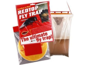 (2 Pack) Tusk - Red Top Fly Trap