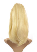 Hair By Miss Tresses Hair Crown Volume Hairpiece Clip in Volume Hair Extensions Golden Blonde