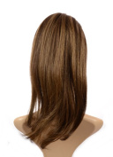 Hair By Miss Tresses Hair Crown Volume Hairpiece Clip in Volume Hair Extensions Caramel Brown