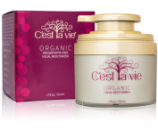 Cest La Vie Daily Facial Moisturiser Cream - 100% Natural and Organic Ingredients - No Preservatives, Fragrance Free Anti-Ageing, Skin Wrinkle Blemish Repair