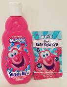 Mr. Bubble Bath Bundle Magic Snap Pop Fizz Hypo-Allergenic Tear Free