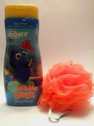 Finding Dory Bubble Bath with Orange Scubby:Bubbly Berry 710ml
