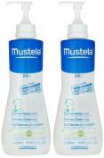Mustela Bebe Range Dermo-Cleansing - 500ml - 2 pk