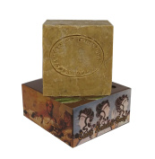 Olive Oil and Laurel (50%) Bar Soap Traditional Turkish Natural Castile from Hatay Turkey 150g