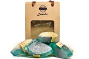 hHom Soap Luffa Set Lavender