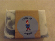 Apple Quinoa Small Batch Luxury Gourmet Vegan Soap 120ml